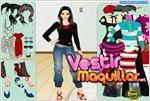 Juego  winter style dress up estilo de invierno