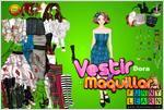 Juego  dora dress up vestir a dora