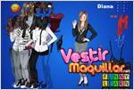 Juego  diana dress up vestir a diana