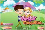 Juego romantic raining love romantica lluvia