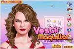 Juego  taylor swift makeup maquilla a taylor swift