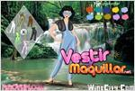 Juego  waterfall beauty dress up cascada de belleza
