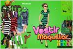 Juego  madison girl dress up vestir a madison