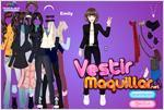 Juego  emily girl dress up vestir a emily