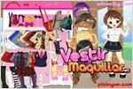Juego  chic school girl dress up colegiala chic