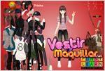 Juego  trisha girl dress up vestir a trisha
