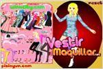Juego  60s dress up decada del 60