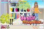 Juego  spring holiday dress up vacaciones de primavera
