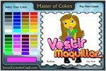 Juego  master of colors maestra de la acuarela