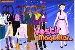 Juego  barbie doll dress up vestir a la muñeca