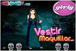 Juego  spooky halloween witch dress up la bruja de halloween