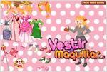 Juego  pretty barbie dress up vestir a barbie