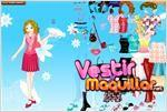 Juego  dolly dress up bella muñequita