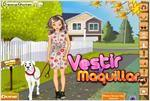 Juego  dog walker dress up paseadora de perros