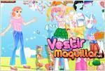 Juego  summer girl dress up moda de verano