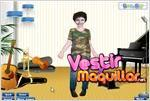 Juego manly brothers dress up vestir a los jonas brothers