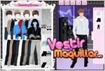 Juego cute justin dress up vestir a justin