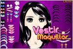 Juego  raven beauty girl make up dulce niña