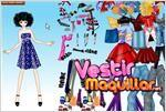 Juego  star girl dress up vestir a la muchacha