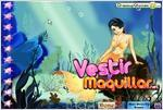 Juego  mermaid dress up vestir a la sirena