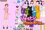 Juego  barbie costume dress up vestir trajes