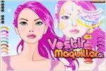 Juego  pink girl makeover cambio de imagen