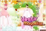 Juego  barbie wedding dress up vestido de novia de barbie