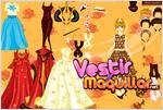 Juego  star doll dress up vestir a la muñeca