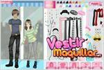 Juego  anime couple dress up vestir a la pareja de anime