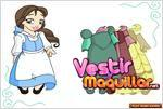 Juego  little belle dress up princesa de disney