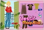 Juego  barbie vacation dress up las vacaciones de barbie