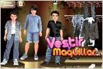 Juego jonas brothers dress up vestir a los hermanos jonas