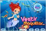 Juego  mermaid prince and princess principe y princesa sirena