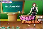 Juego  school girl niña de la escuela