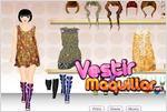 Juego  silk collection 2011 vestir a la modelo