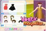 Juego  party star dress up vestir a la estrella