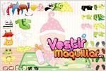 Juego  dress up baby vestir al bebe