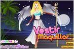Juego warrior angel angel guerrera