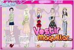 Juego  glacial girl dressup vestir a las modelos