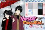 Juego  anime winter couple dress up game novios en invierno