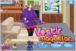 Juego  the hot winter abrigada en invierno