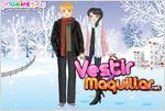 Juego winter romance dress up romance en invierno