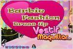 Juego  barbie fashion dress up vestir a barbie
