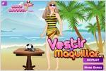 Juego barbie goes beach barbie va a la playa