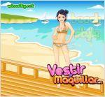 Juego  beach style dressup. vestida para la playa