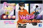 Juego  fancy teen girl dress up. viste a fatima