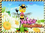 Juego queen bee. viste a la reina abeja