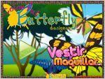 Juego colorful butterfly designer. diseña tus mariposas