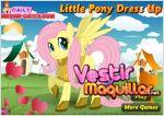 Juego  little pony dress up. viste al pony