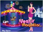 Juego  fashionable model dressup. viste a la modelo